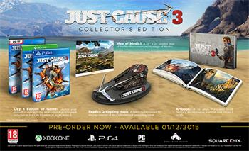 PC Just Cause 3 Collector's Edition