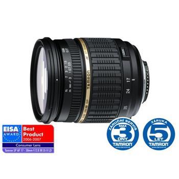 Tamron AF SP 17-50mm F/2.8 pro Sony XR Di-II LD Asp.(IF); A16S