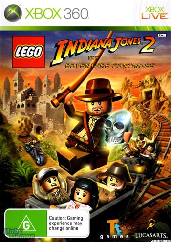 X360 LEGO Indiana Jones 2 Classic; 8717418420239