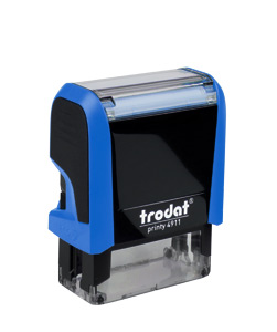 Razítko Trodat 4911 PRINTY4 modré
