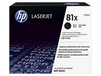 HP CF281X - tisková kazeta černá velká; CF281X