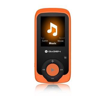 GoGEN MAXI přehrávač MP3/MP4, 4GB oranžový