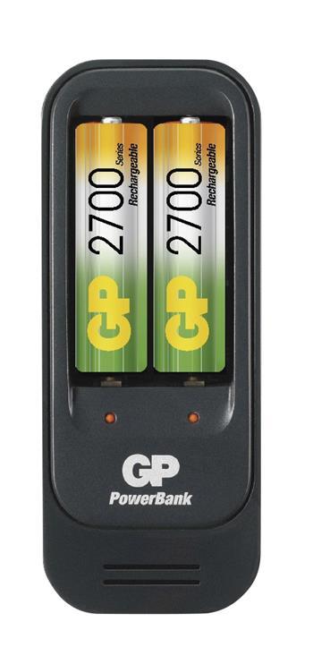 GP nabíječka baterií PB560 + 2AA NiMH2700; 1604156000