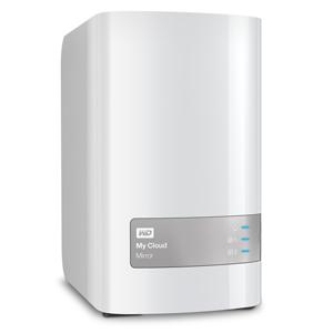 """WD My CLOUD MIRROR, 8 TB (2x4TB) 3,5"""", RJ45, NAS; WDBZVM0080JWT-EESN"""