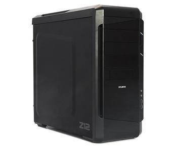 Zalman case miditower Z12, mATX/ATX, bez zdroje, USB3.0, černá; Z12