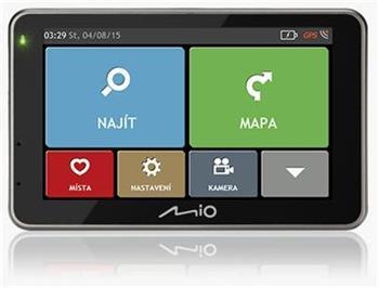 "MIO Combo 5207 GPS navigace, LCD 5"", mapy EU (44) Lifetime"