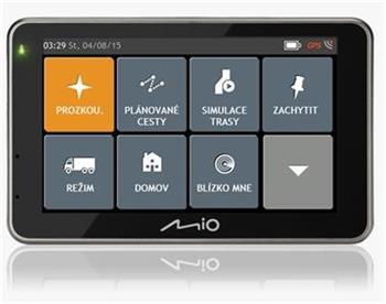 "MIO Combo 5207 Truck GPS navigace, LCD 5"", mapy EU (44) Lifetime; 5413N5020035"