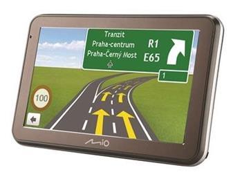 "MIO Spirit 7550 GPS navigace, LCD 5"", mapy EU (44) Lifetime"