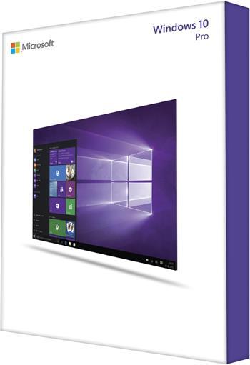 MS OEM Windows 10 Pro x64 EN 1pk DVD; FQC-08929