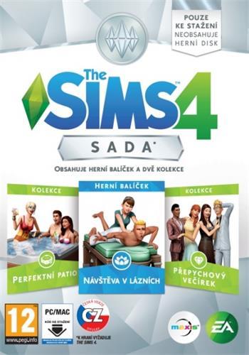 PC The Sims 4 Bundle Pack 1 - rozšíření