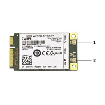 DELL Wireless 5570Dell Interní adaptér 3G Dell Wireless 5570; 555-BBPP