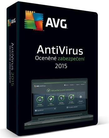 AVG Anti-Virus 2016, 5 PC, 12 měs., ESD; AVCEN12EXXS005