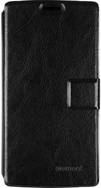 Sencor kožené flipové pouzdro, Element P401, černé