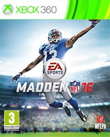 X360 Madden NFL 16