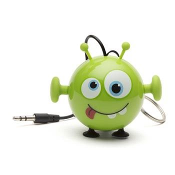 Reproduktor KITSOUND Mini Buddy Alien, 3,5 mm jack