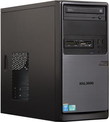 HAL3000 ProWork W10/ Intel i3-4160/ 4GB/ 1TB/ DVD/ CR/ W10