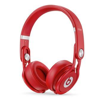 Beats by Dr. Dre Mixr, červené