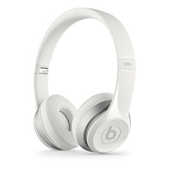 Beats by Dr. Dre Solo2, bílé