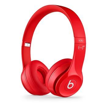 Beats by Dr. Dre Solo2, červené