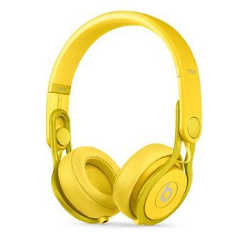 Apple Beats Mixr High-Performance, sluchátka, žluté