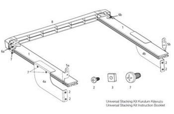 BEKO 2992100300 Mezikus pračka - sušička kovový; 2992100300