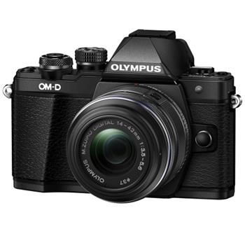 Olympus E-M10 Mark II 1442 kit black/black; V207051BE000