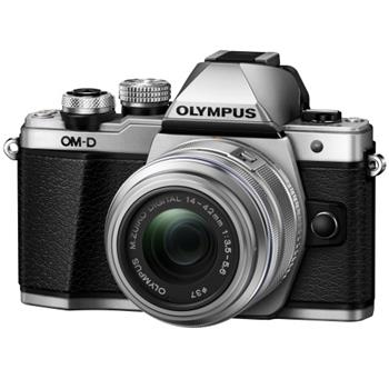 Olympus E-M10 Mark II 1442 kit silver/black; V207051SE000