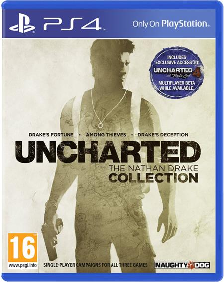 PS4 Uncharted™: The Nathan Drake Collection ; PS719866831