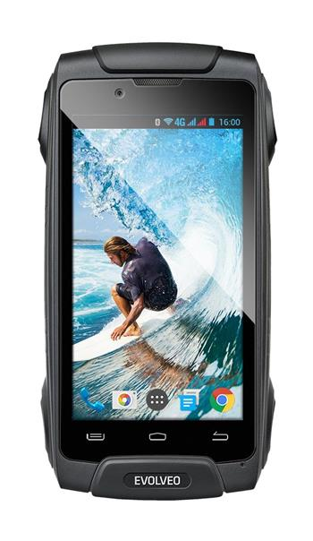 EVOLVEO StrongPhone Q8 LTE, vodotěsný odolný Android Octa Core smartphone