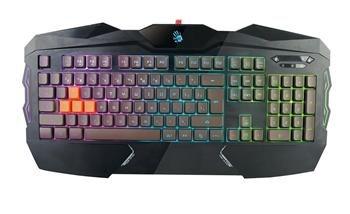 A4tech Bloody B254 podsvícená herní klávesnice, USB, CZ; B254