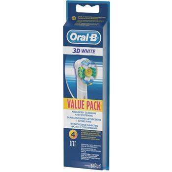 Braun Oral-B EB 18-4 3D White Luxe - náhradní kartáček