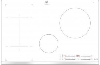 ELECTROLUX EHI8543F9W Indukční deska - samostatná; EHI8543F9W