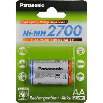 Baterie Panasonic AA 2700mAh 2ksPANASONIC HR6 AA BK-3HGAE/2BE HICAP 2700; BK-3HGAE/2BE