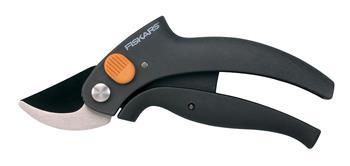 Fiskars PowerLever P54 - Nůžky zahradní s pákovým převodem, dvoučepelové; 1001531