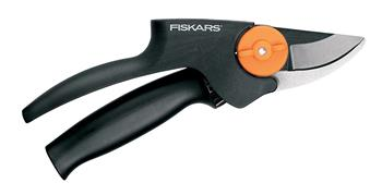Fiskars PowerGearTM - Nůžky zahradní převodové dvoučepelové, střední; 1000573
