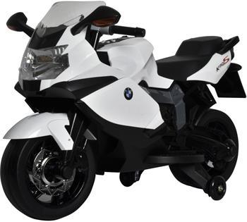 Buddy Toys BMW K1300 BEC 6010 - Elektrická motorka, bílá; 57000401