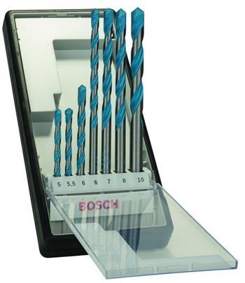 Sada vrtáků Bosch 7dílná; 3165140446303