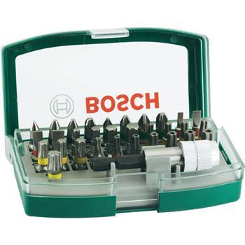 Sada bitů Bosch 32 dílná s barevným odlišením; 2607017063