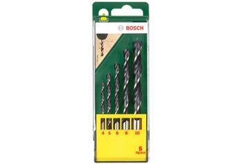 Sada vrtáků Bosch 5 dílná do dřeva; 3165140415583