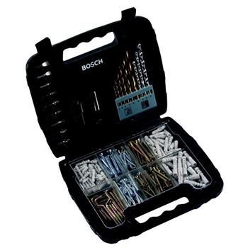 Sada hmoždinek, vrutů a vrtáků Bosch 200 dílná; 3165140416337