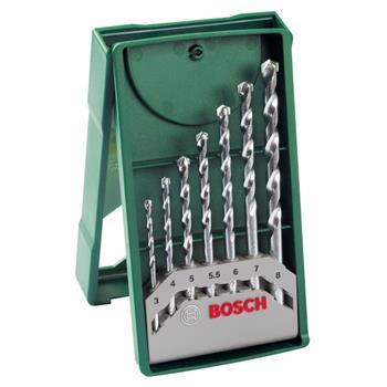 Sada vrtáků Bosch 7 dílná X-Line do kamene; 2607019581