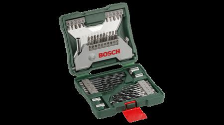 Sada vrtáků a bitů Bosch 43 dílná X-Line; 3165140452502