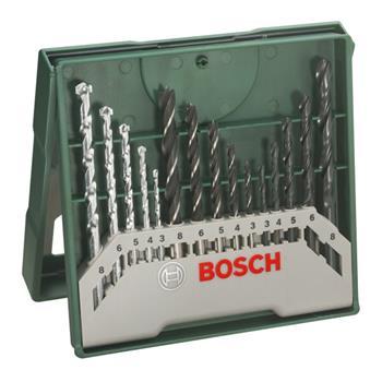 Sada vrtáků Bosch 15 dílná X-Line; 3165140465274