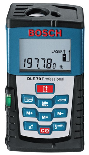 Laseri Bosch DLE 70 Professional; 3165140488266