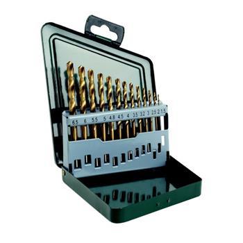 Sada vrtáků Bosch 13 dílná titan do kovu HSS-R; 2607019436