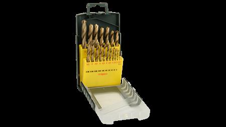 Sada vrtáků Bosch 19 dílná titan do kovu HSS-R; 2607019437