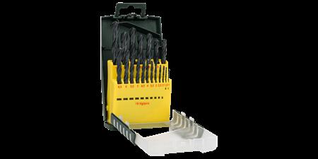 Sada vrtáků Bosch 19 dílná do kovu HSS-R; 2607019435