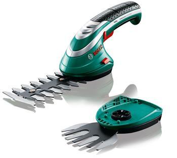 Nůžky na trávu a keře Aku Bosch Isio 3; 3165140630627