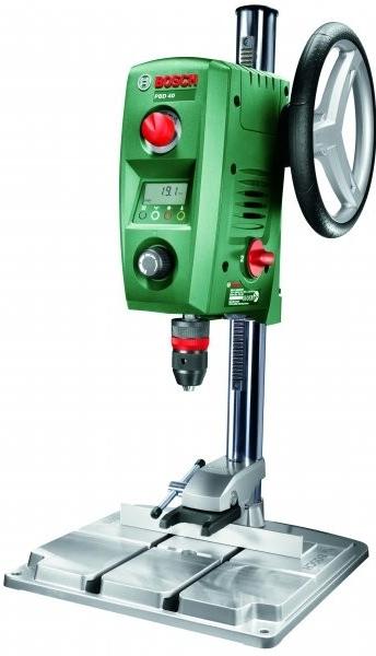 Vrtačka stojanová Bosch PBD 40; 3165140569187