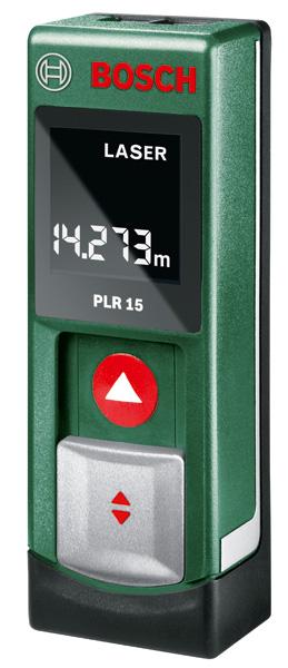 Dálkoměr Bosch PLR 15, laserový; 3165140727761